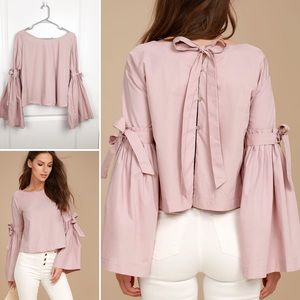 Free People | Obviously Yours Bell Sleeve Top L K2